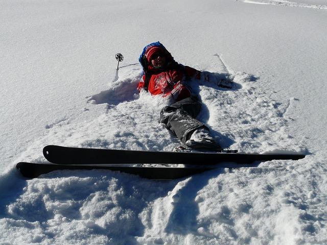 Sådan kommer du dig over en skiskade
