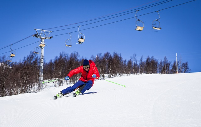 De mest populære skidestinationer for unge