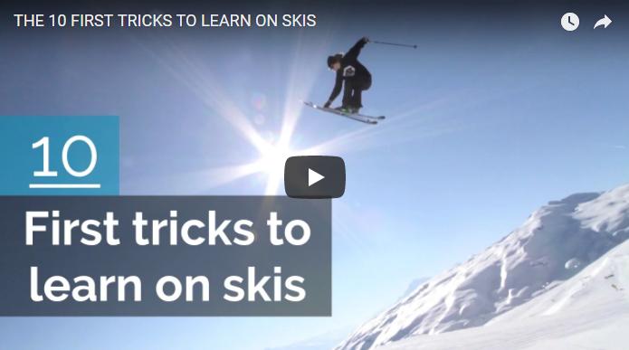 10 nemme tricks på ski
